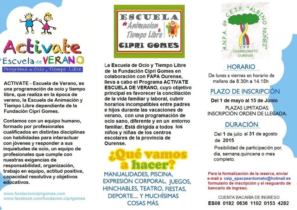 Escuela-verano-2015-triptico1-ACTIVATE-Albino-Nunez
